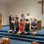 Blessing and Prayer at Confirmation